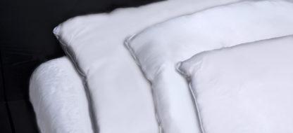 poduszki z wypełnieniem jedwabnym